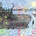Creek Impressions #2 - Nocturne  by Toby Daniel Jones