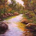Creek Retreat Vii by Connie Tom