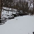 Creeks Battles The Snow And Cold To Remain Flowing. by Cliff Ball