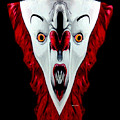 Creepy Clown 01215 by Rafael Salazar