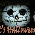 Creepy Halloween Pumpkin by Gravityx9  Designs
