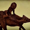 Creepy Things On The Mantel 5 by Joe Geraci