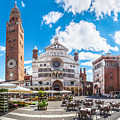 Cremona Market Square With Cathedral by JR Photography