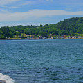 Crescent Beach Center Panoramic by Tikvah's Hope