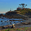 Crescent City Battery Point Lighthouse by Greg Norrell