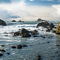 Crescent City Shoreline by Greg Nyquist