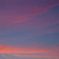 Crescent Moon In Dawn Sky by Irwin Barrett