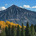 Crested Butte Mountain by Michael Ver Sprill