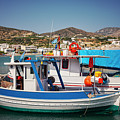 Crete Fishing Boats by Sophie McAulay