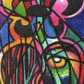 Creve Coeur Streetlight Banners Whimsical Motion 19 by Genevieve Esson