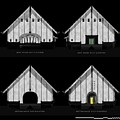 Crew Boathouse Elevations by Aiden Humphrey