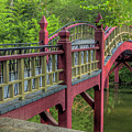 Crim Dell Bridge Summer by Jerry Gammon