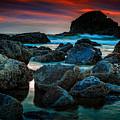 Crimson Skies by Rick Berk