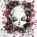 Crimson Skull by Jaime Violano