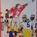 Cris Carter - Ohio State by TJ Doyle