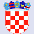 Croatia Coat Of Arms by Movie Poster Prints