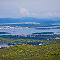 Croatian Islands Archipelago Aerial View by Brch Photography