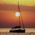 Croatian Sunset by Deborah Brodie