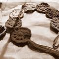 Crochet Chakras And Buddha by Samiksa Art
