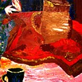 Crock And Coffee by Karen L Christophersen