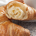 Croissants And Coffee by Julie Woodhouse