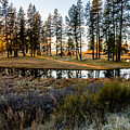 Crooked Creek Sunset by Michael Parks