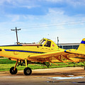 Crop Duster - Ag Plane by Barry Jones