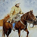 Cropped Ranch Rider by Jimmy Smith