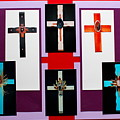 Cross Collage II by M Diane Bonaparte