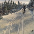 Cross Country Skiing  by J O Huppler