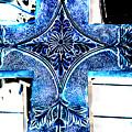 Cross In Blue by Susanne Van Hulst