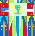 Cross Of Colors by Jon Fennel