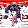 Cross Of Iron Theatrical Poster 1977 by David Lee Guss