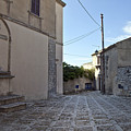 Cross Road In Sicily by Madeline Ellis