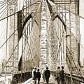 Cross That Bridge Vintage Photo Art by Karla Beatty