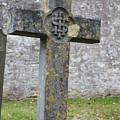 Cross Tombstone St. Mary's Wedmore by Lauri Novak