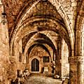 Rhodes, Greece - Cross Vault by Mark Forte