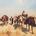 Crossing The Desert by Jean Leon Gerome