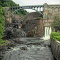 Croton Dam In Summer by Kristia Adams
