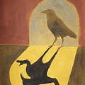 Crow In The Doorway Of Life by Sophy White