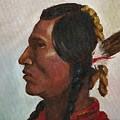 Crow Warrior by Merle Blair