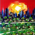 Crowded City by Mac Worthington