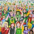 Crowds by Todd Artist