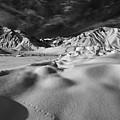 Crowley Lake Snow Fields by Chris Morrison