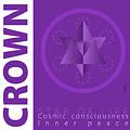 Crown Chakra Series Three by Experimenda