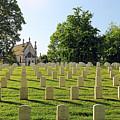 Crown Hill National Cemetery, Indianapolis, Indiana by Steve Gass
