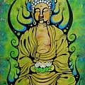 Crowned Buddha by John Benko