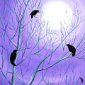 Crows On Empty Branches by Laura Iverson