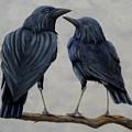 Crows by Xochi Hughes Madera