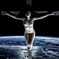 Crucified Tellus II by Ramon Martinez